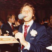 Heinz Flohe an der Meisterfeier 1978.