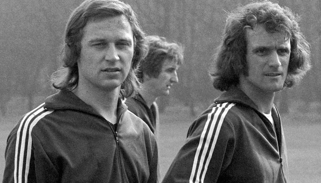 Beim Effzeh und in der Nationalmannschaft: Heinz Flohe und Wolfgang Overath.