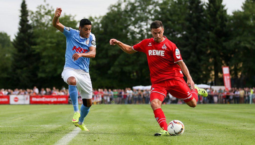 Das Testspiel 1. FC Köln gegen Fortuna Köln (3:1) - die besten Bilder aus Frechen.