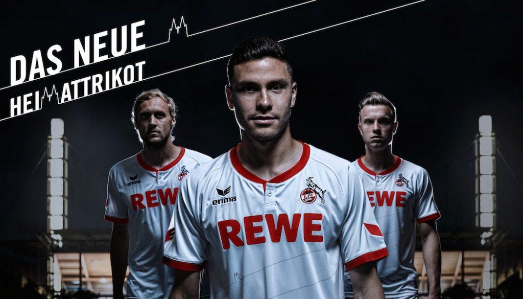 Das neue Heimtrikot des 1. FC Köln. (Foto: Thomas Fähnrich/1. FC Köln)