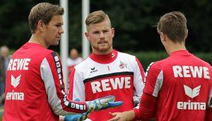 Zusammen mit Thomas Kessler (li.) ist Timo Horn Teil des Mannschaftsrates.
