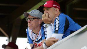 Peter Stöger und Jörg Schmadtke.