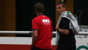 Markus Weinzierl spionierte beim Effzeh.