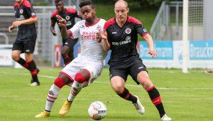 Die U21 des 1. FC Köln verliert mit 0:4 bei Viktoria Köln.