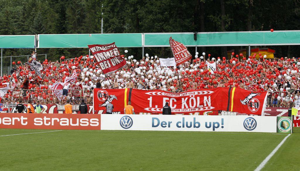 Der 1. FC Köln gewinnt zum Saisonauftakt mit 4:0 (2:0) gegen den SV Meppen im DFB-Pokal. (Foto: GBK)
