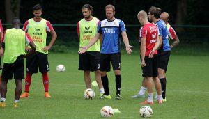 Martin Heck und seine U21.