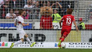 Der 1. FC Köln gewinnt beim VfB Stuttgart mit 3:1.