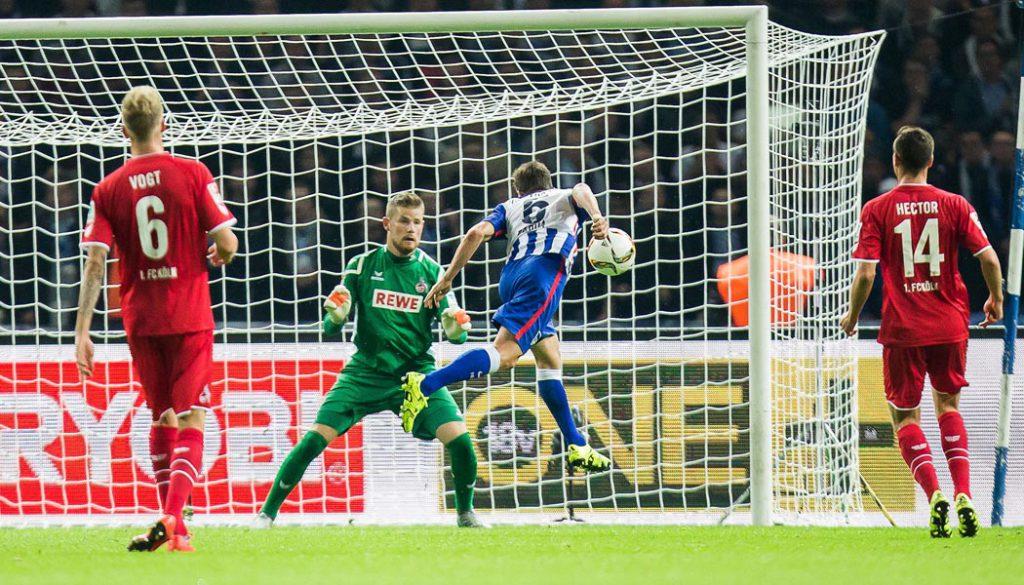 Der 1. FC Köln verliert mit 0:2 bei Hertha BSC. (Foto: Sebastian Wells)