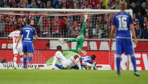 Anthony Modeste trifft zum 1:0 gegen Ingolstadt: Der 1. FC Köln trennt sich 1:1 vom FC Ingolstadt. (Foto: Jörg Schüler)