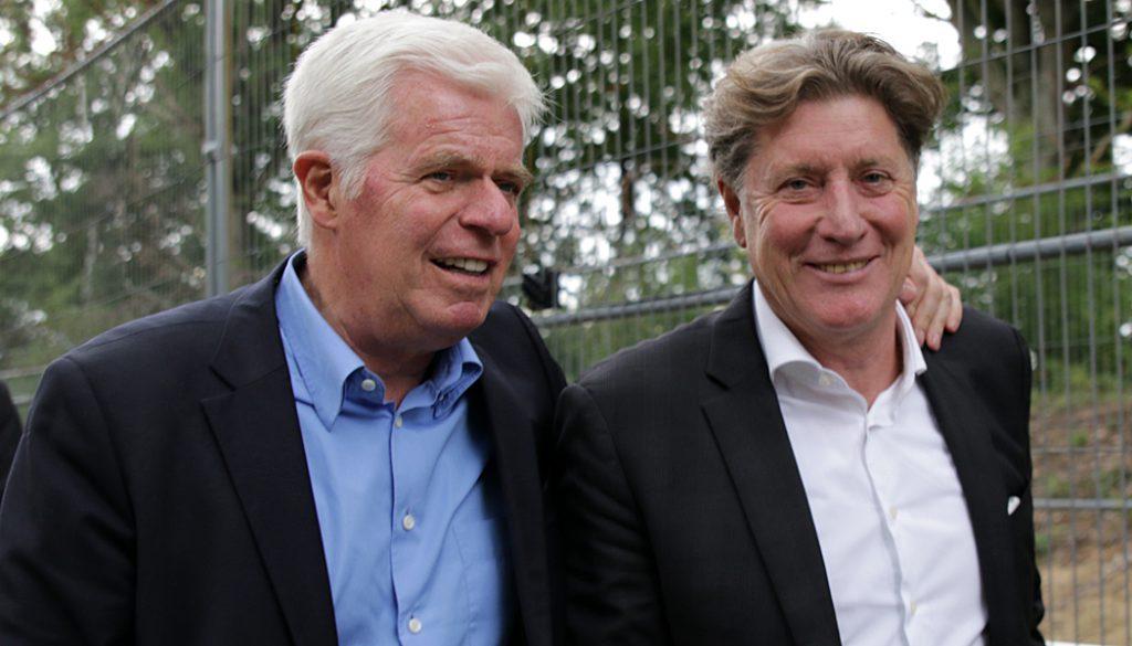 Werner Spinner und Toni Schumacher.