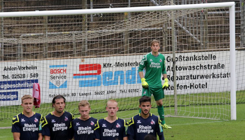 Die Bilder vom 3:2-Sieg der U21 des 1. FC Köln bei Rot Weiss Ahlen.