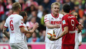 Der 1. FC Köln verliert beim FC Bayern mit 0:4. (Foto: sampics)