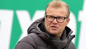 Frank Schaefer bei den Frauen des 1. FC Köln.