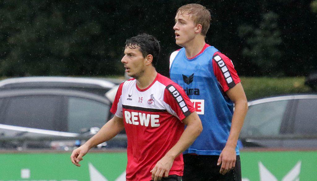 Philipp Hosiner gegen Timo Hübers. (Foto: GBK)