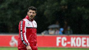 Wieder im Training: Milos Jojic.