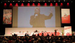 Die Mitgliederversammlung 2015 des 1. FC Köln.