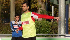 Mergim Mavraj ist wieder voll im Mannschaftstraining.
