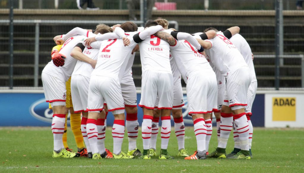 Die U21 des 1. FC Köln.