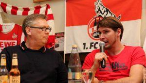 Patrick Helmes beim FC-Stammtisch.
