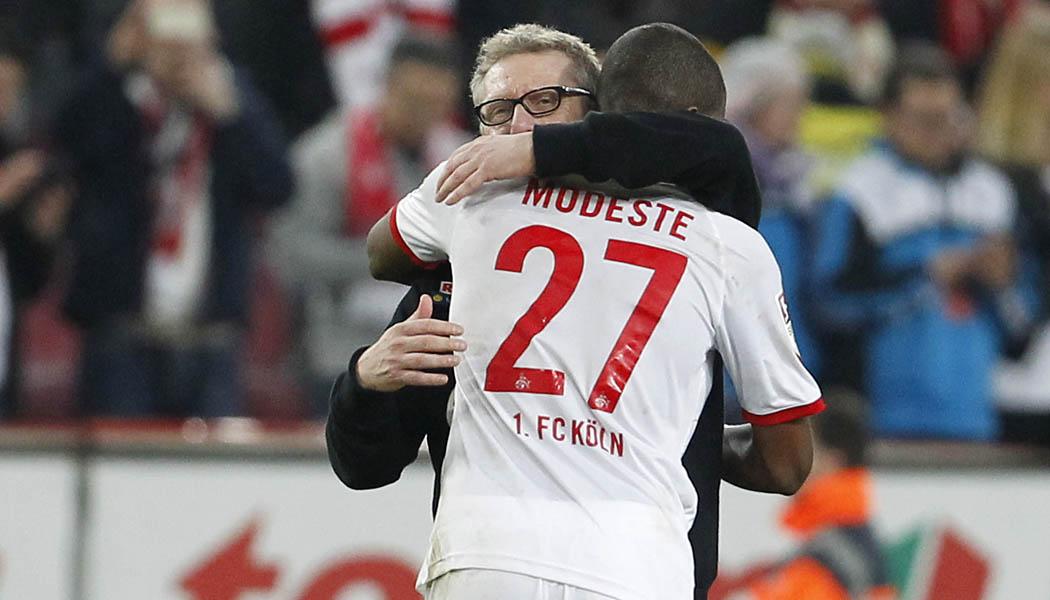Der 1. FC Köln gewinnt gegen Borussia Dortmund mit 2:1. (Foto: MV)