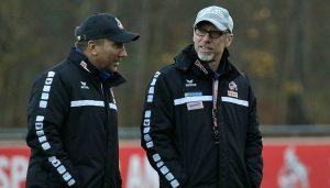 Peter Stöger und Manfred Schmid.