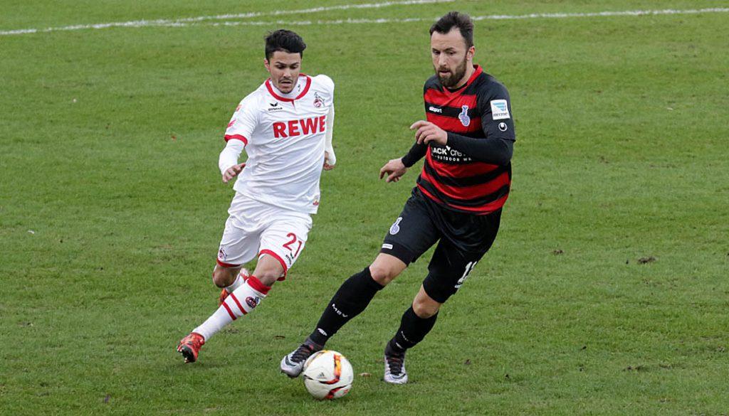 Leonardo Bittencourt: Der 1. FC Köln besiegt den MSV Duisburg mit 6:0. (Foto: GBK)