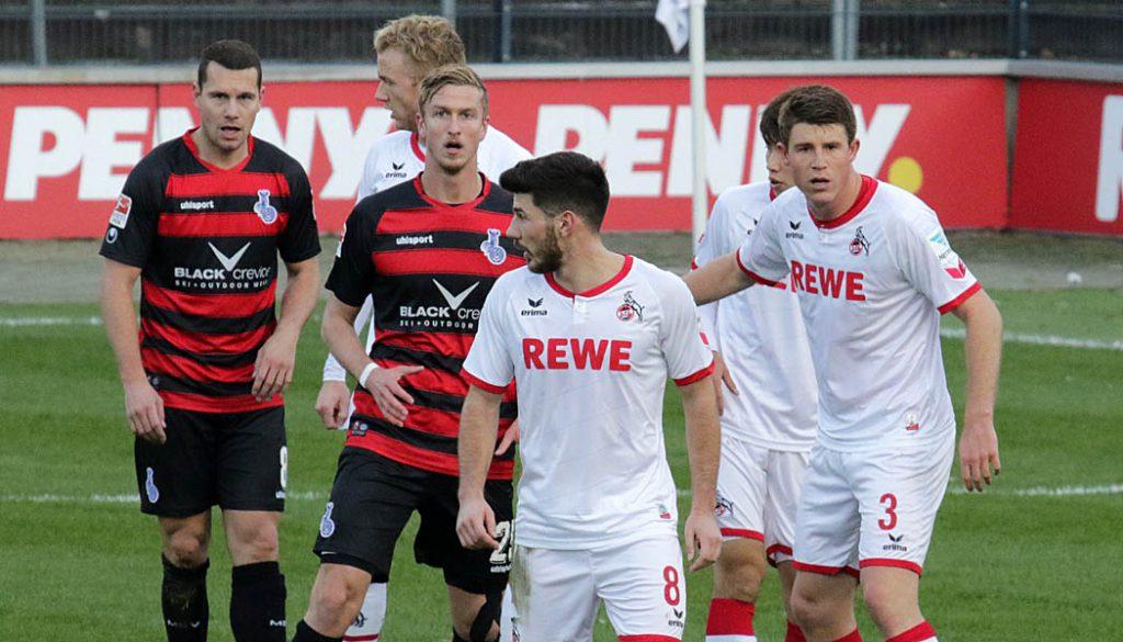 Der 1. FC Köln besiegt den MSV Duisburg mit 6:0. (Foto: GBK)