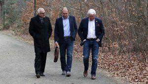 Christoph Schickhardt, Jörg Schmadtke und Werner Spinner. (Foto: GBK)