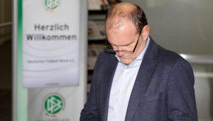 Jörg Schmadtke beim DFB. (Foto: GBK)