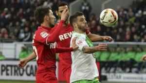 Der 1. FC Köln trennt sich 1:1 vom VfL Wolfsburg. (Foto: GK)