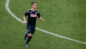 Simon Zoller im Test gegen Mainz 05. (Foto: GBK)