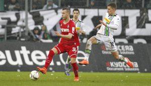 Marcel Hartel bei seinem Profi-Debüt für den 1. FC Köln. (Foto: MV)