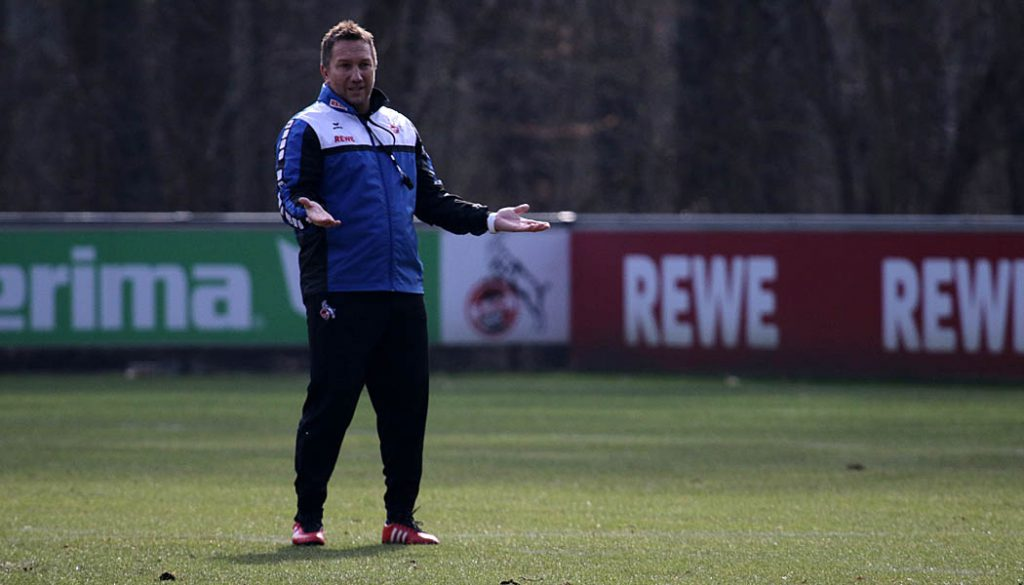 Manfred Schmid beim Taktik-Training. (Foto: GBK)