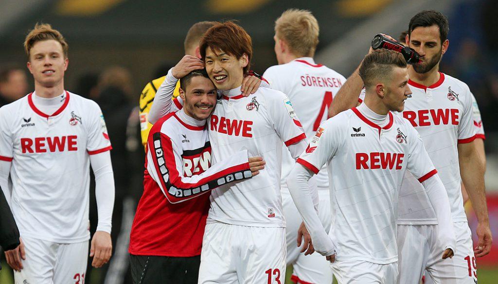 Der 1. FC Köln gewinnt in Hannover mit 2:0. (Foto: CM)
