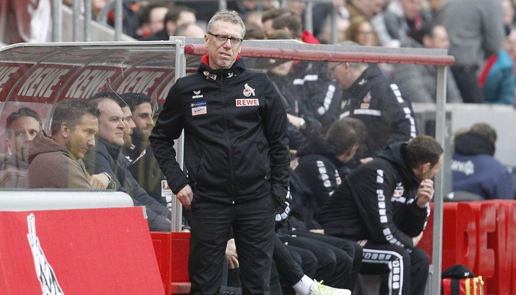 Peter Stöger auf der anderen Seite der Trainerbank. (Foto: MV)