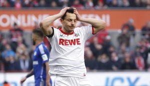 Philipp Hosiner vergibt in der 72. Minute eine Großchance gegen Schalke. (Foto: MV)