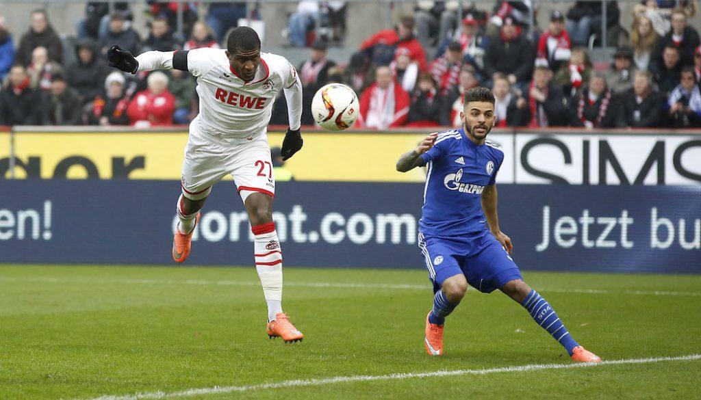 Anthony Modeste vergibt gegen Schalke aus sechs Metern. (Foto: MV)