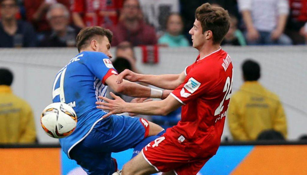 Lukas Klünter bei seinem Profi-Debüt. (Foto: Pressefoto Baumann)