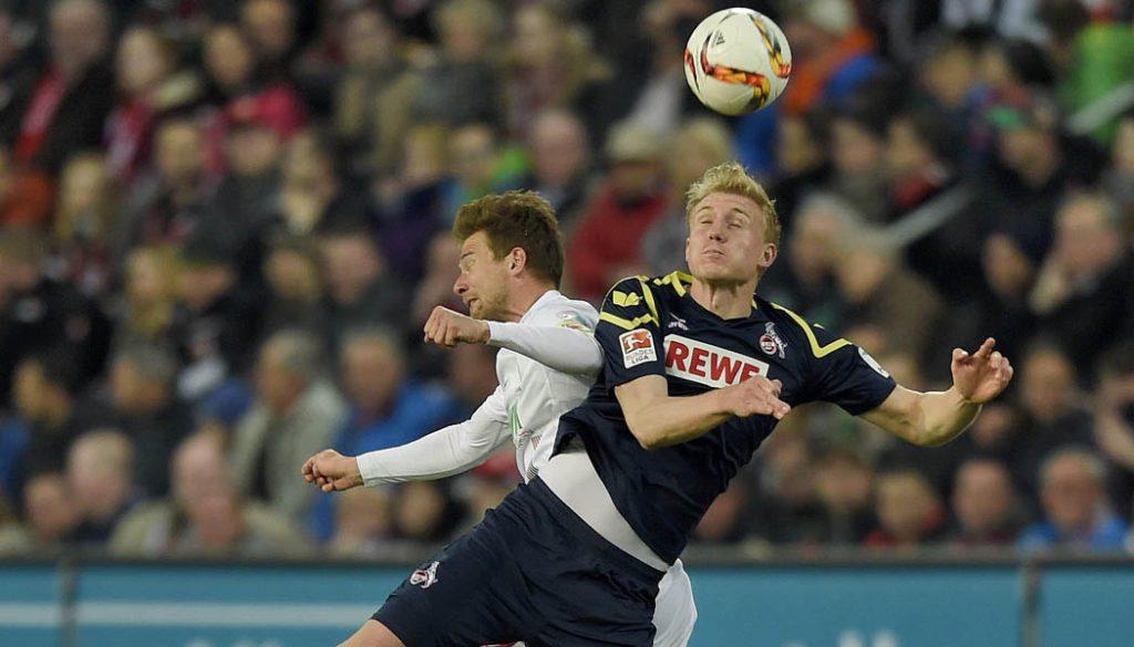Frederik Sörensen in der Partie gegen den FC Augsburg. (Foto: M.i.S.)
