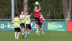 Das nicht-öffentliche Training am Freitag beim 1. FC Köln. (Foto: GBK)