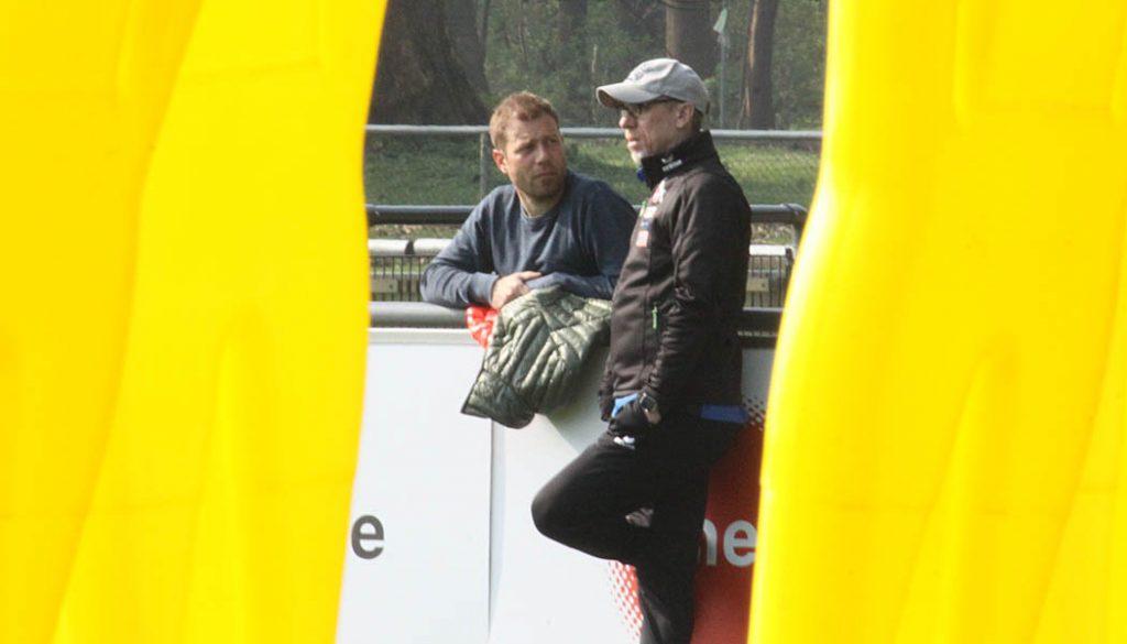 Frank Kramer und Peter Stöger im Austausch. (Foto: GBK)