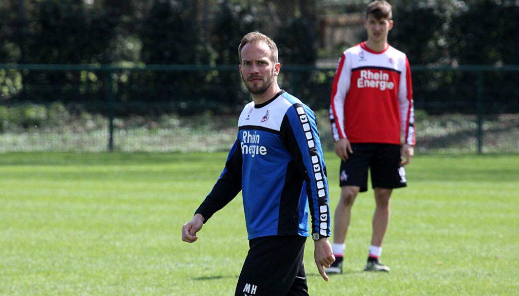 Martin Heck im Training der U21. (Foto: GBK)
