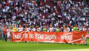 Der 1. FC Köln trennt sich torlos vom SV Werder Bremen im letzten Heimspiel der Saison 2015/16. (Foto: JS)