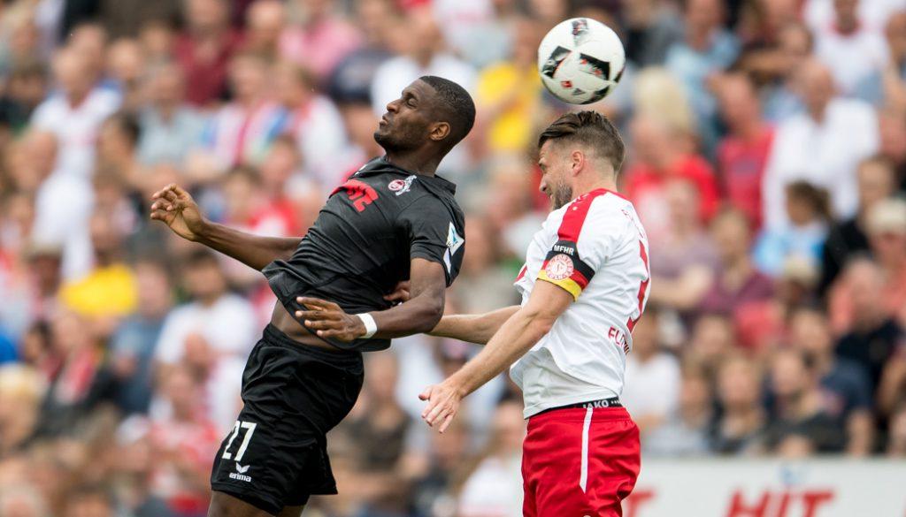 Anthony Modeste im Testspiel gegen Fortuna Köln. (Foto: JS)
