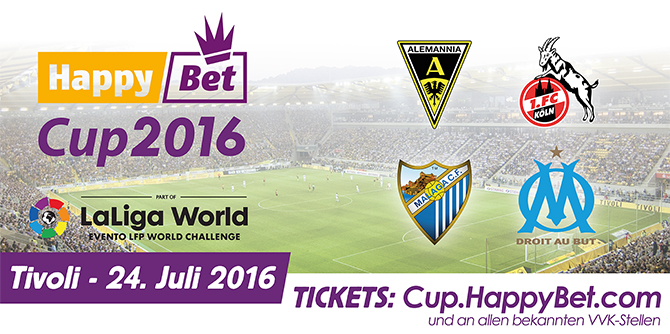 /// ANZEIGE /// Sichern Sie sich jetzt Tickets für den HappyBet Cup in Aachen! (Foto: HappyBet.com)