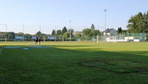 Der Trainingsplatz in Bad Tatzmannsdorf ist in einem bemitleidenswerten Zustand. (Foto: GBK)