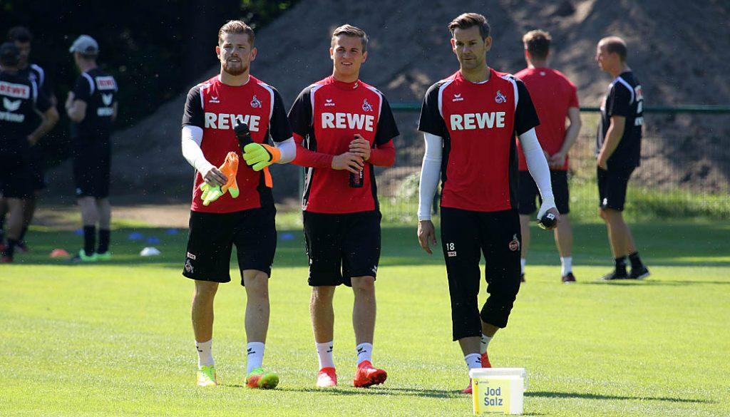 Die drei Torhüter des 1. FC Köln. (Foto: GBK)