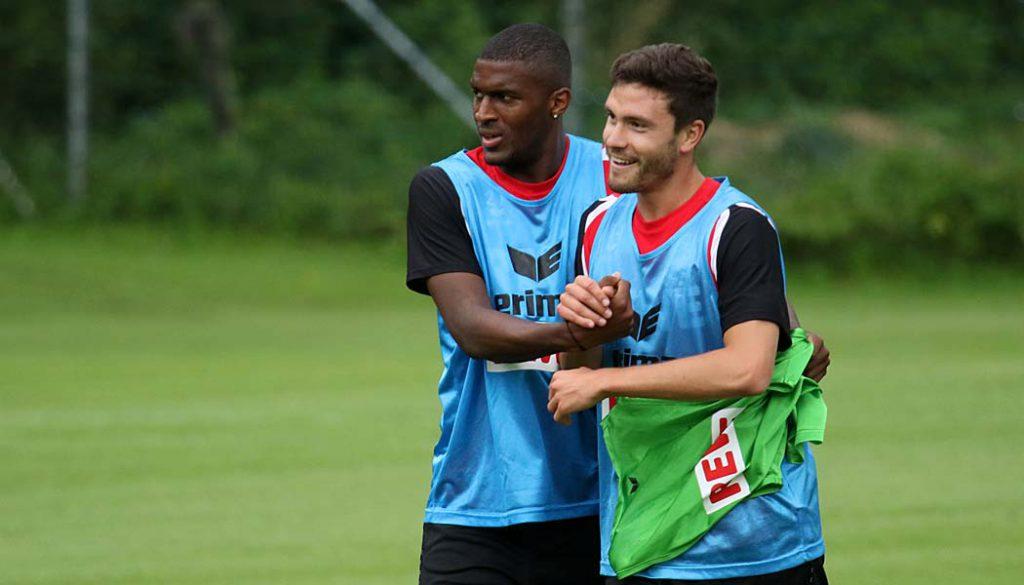Anthony Modeste und Jonas Hector. (Foto: GBK)