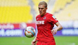 Artjoms Rudnevs erzielt gegen Marseille sein erstes Tor für den 1. FC Köln. (Foto: CvdL)