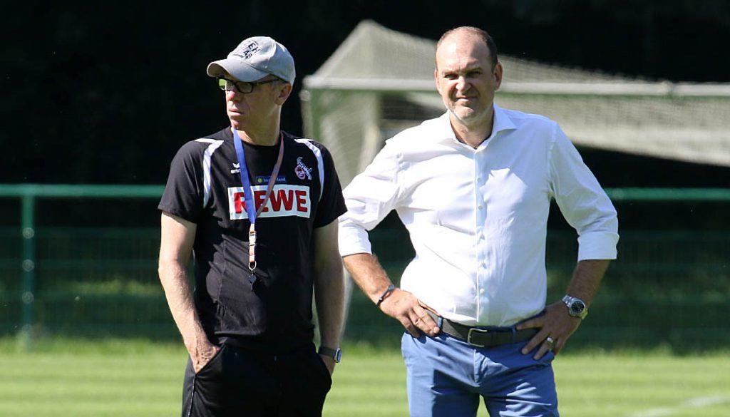 Jörg Schmadtke und Peter Stöger. (Foto: GBK)